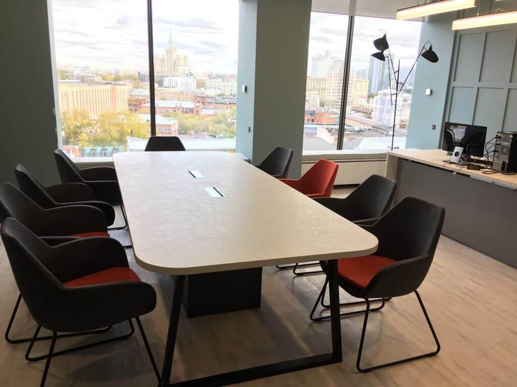 Стол переговорный для  офиса Thermos в Москве