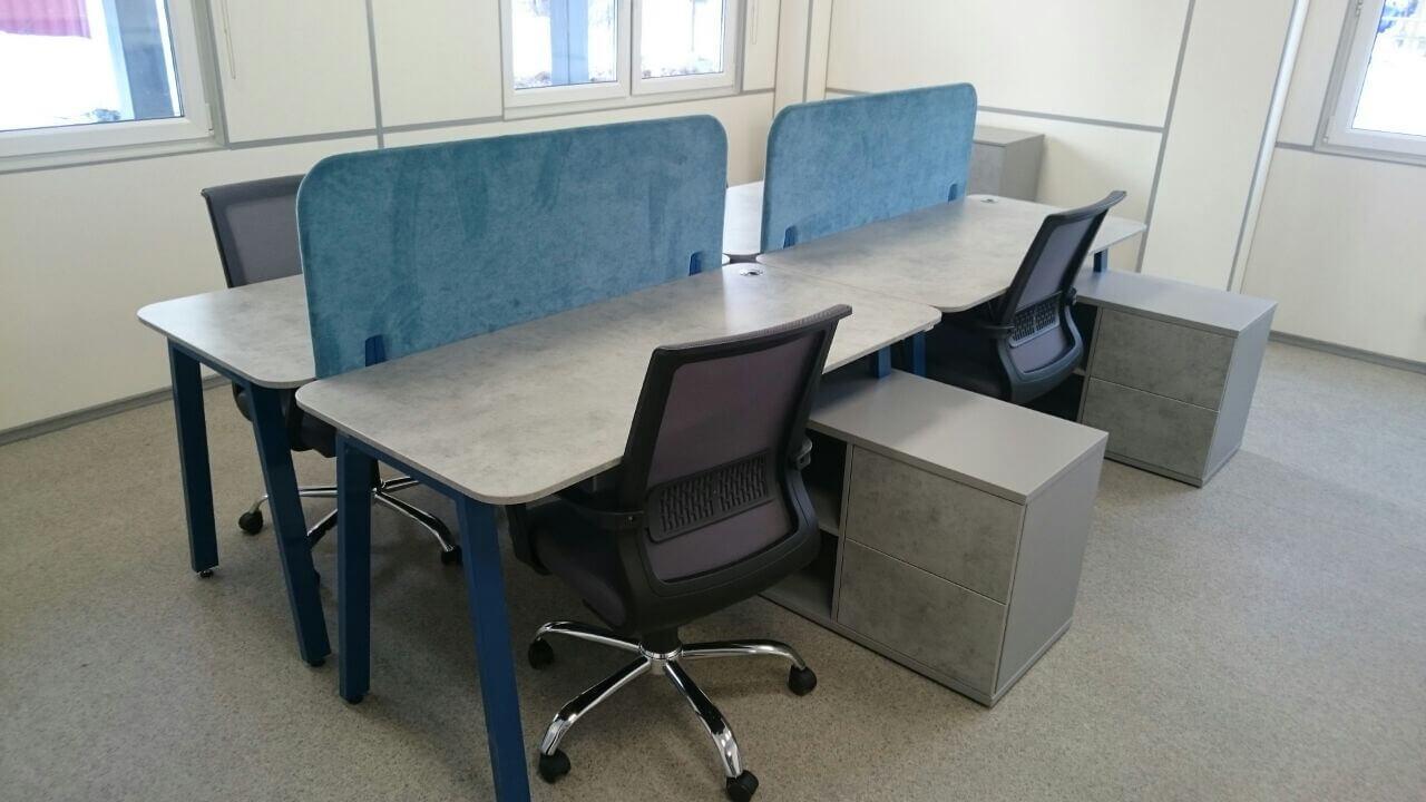 Мебель для офиса продаж ЖК Акватория