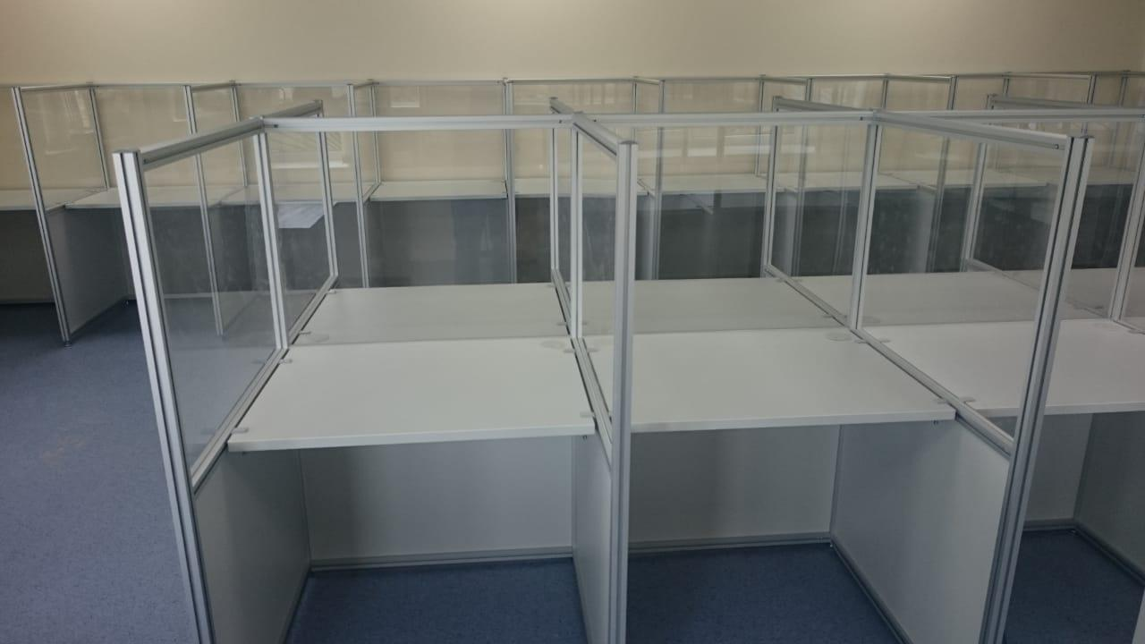 Мебель для колл-центра Айсберг