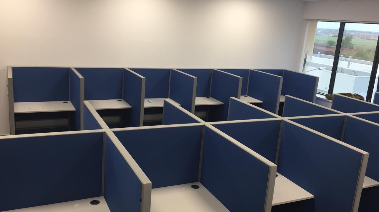 Мебель для колл-центра завода Haier в г. Набережные Челны